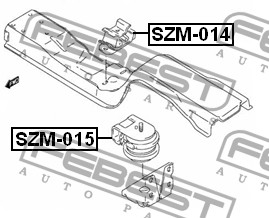 Honda Shadow 750 Fuse Box Location furthermore NAB 201 further 2 4 Mitsubishi Cooling System Diagram additionally Front Shock Absorber Bearing Mzb 004 En together with Flywheel Holding Tool 303 544 T96p 6375 A U. on 1998 acura parts catalog